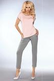 Dámské pyžamo LivCo Corsetti Model 101 šedo-růžové