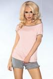 Dámské pyžamo LivCo Corsetti Model 103 šedo-růžové