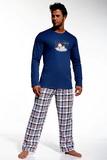 Pánské pyžamo Cornette 12420 I like modré