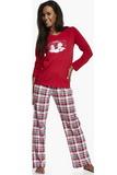 Dámské pyžamo Cornette It 65512 červené