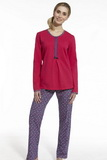 Dámské pyžamo Cornette 67444 Emma růžové