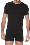 Pánské triko Cornette 202 černé