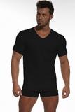 Pánské triko Cornette 201 černé