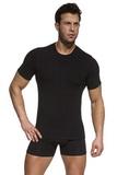 Pánské triko Cornette Authentic 201 černé