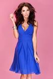 Dámské šaty Numoco 35-1 modré