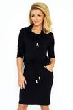 Dámské šaty Numoco 44-10 černé