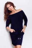 Dámské šaty Numoco 13-15 modré