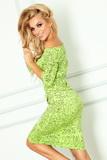 Dámské šaty Numoco 13-35 zelené