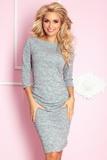 Dámské šaty Numoco 59-2 šedé