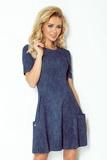 Dámské šaty Numoco 99-2 modré