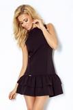 Dámské šaty Numoco 113-2 černé
