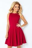 Dámské šaty Numoco 125-1 višňové