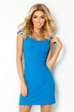 Dámské šaty Numoco 118-4 modré