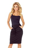 Dámská sukně Numoco 127-4 černá