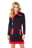 Dámské šaty Numoco 129-4 černé