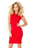 Dámské šaty Numoco 132-2 červené