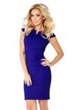 Dámské šaty Numoco 132-1 modré