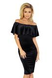Dámské šaty Numoco 138-4 černé