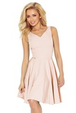Dámské šaty Numoco 114-8 růžové