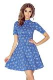 Dámské šaty Morimia 011-1 džínové