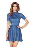 Dámské šaty Morimia 011-2 džínové