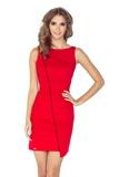 Dámské šaty Morimia 004-4 červené