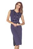 Dámské šaty Morimia 012-1 bílo-modré