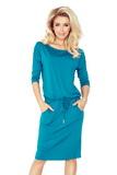 Dámské šaty Numoco 13-63 modré