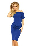 Dámské šaty Numoco 139-3 modré