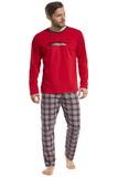 Pánské pyžamo Cornette 12487 Display 2 červené