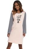 Noční košile Cornette 640153 Autumn 2 růžová