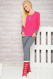 Dámské pyžamo Taro 2120 červené