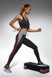 Fitness legíny BasBleu Extreme černé