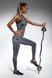 Fitness legíny BasBleu Intense černé