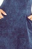 Dámské šaty Numoco 155-2 modré