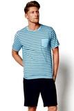 Pánské pyžamo Esotiq 34982 modré