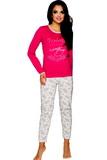 Dámské pyžamo Taro Gabi 211 malinové