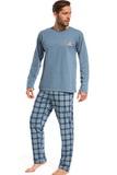 Pánské pyžamo Cornette 12497 modré