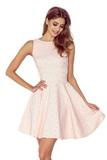 Dámské šaty Numoco 125-14 broskvové