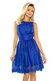 Dámské šaty Numoco 173-1 modré
