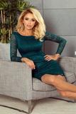 Dámské šaty Numoco 180-2 zelené