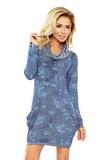 Dámské šaty Numoco 135-5 modré