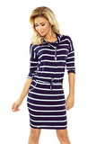 Dámské šaty Numoco 44-16 modré