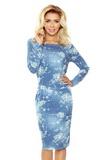 Dámské šaty Numoco 172-2 modré