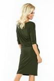 Dámské šaty Numoco 13-76 olivové