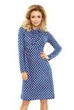 Dámské šaty Numoco 158-1 modré
