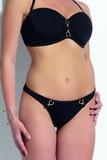 Dámské dvoudílné plavky KrisLine Donna černé