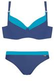 Dámské dvoudílné plavky Self 930a v110 modré