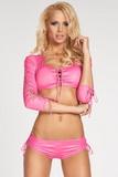 Erotická souprava 7-Heaven Lima růžová