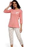 Dámské pyžamo Cornette 602132 Betty růžové